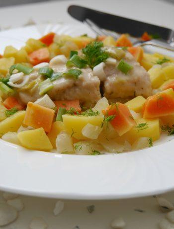 Welsfilet mit Papaya-Gemüse_2 | Rezept Dr. Alexa Iwan
