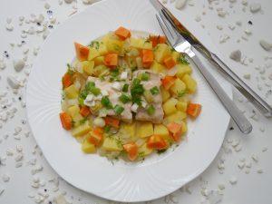 Wels mit Papaya-Gemüse_3 | Rezept Dr. Alexa Iwan