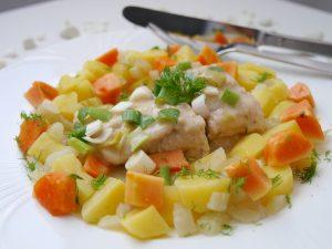 Wels mit Papaya-Gemüse_4 | Rezept Dr. Alexa Iwan