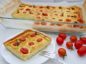 Frischkäse-Quiche mit Kirschtomaten_4 | Rezept Dr. Alexa Iwan