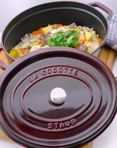La Cocotte: Spitzkohlschmortopf mit Lamm_4 | Rezept Dr. Alexa Iwan