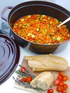 La Cocotte: Gemüse-Schmortopf mit roten Linsen_2 | Rezept Dr. Alexa Iwan