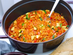La Cocotte: Gemüse-Schmortopf mit roten Linsen_3 | Rezept Dr. Alexa Iwan