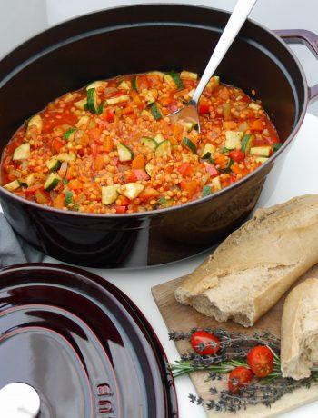 La Cocotte: Gemüse-Schmortopf mit roten Linsen_5 | Rezept Dr. Alexa Iwan