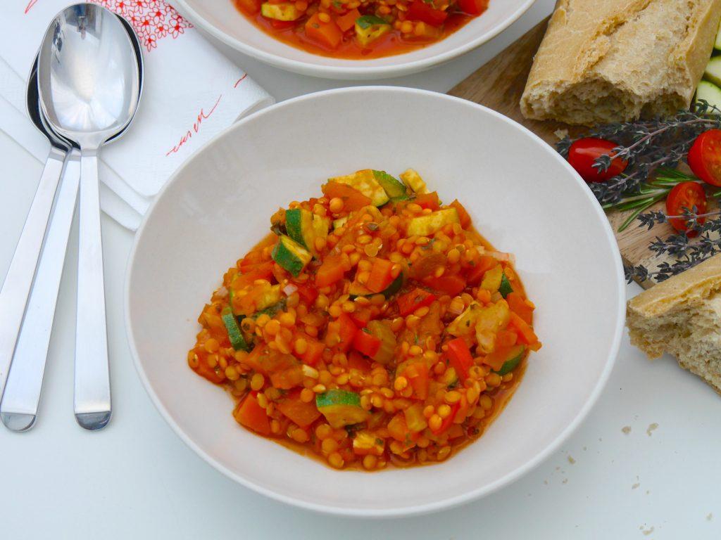 La Cocotte: Gemüse-Schmortopf mit roten Linsen_9 | Rezept Dr. Alexa Iwan