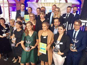 Sieger und Laudatoren des Lecker Food Awards