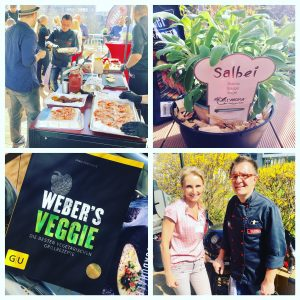 Weber Grill-Event mit Dr. Alexa Iwan