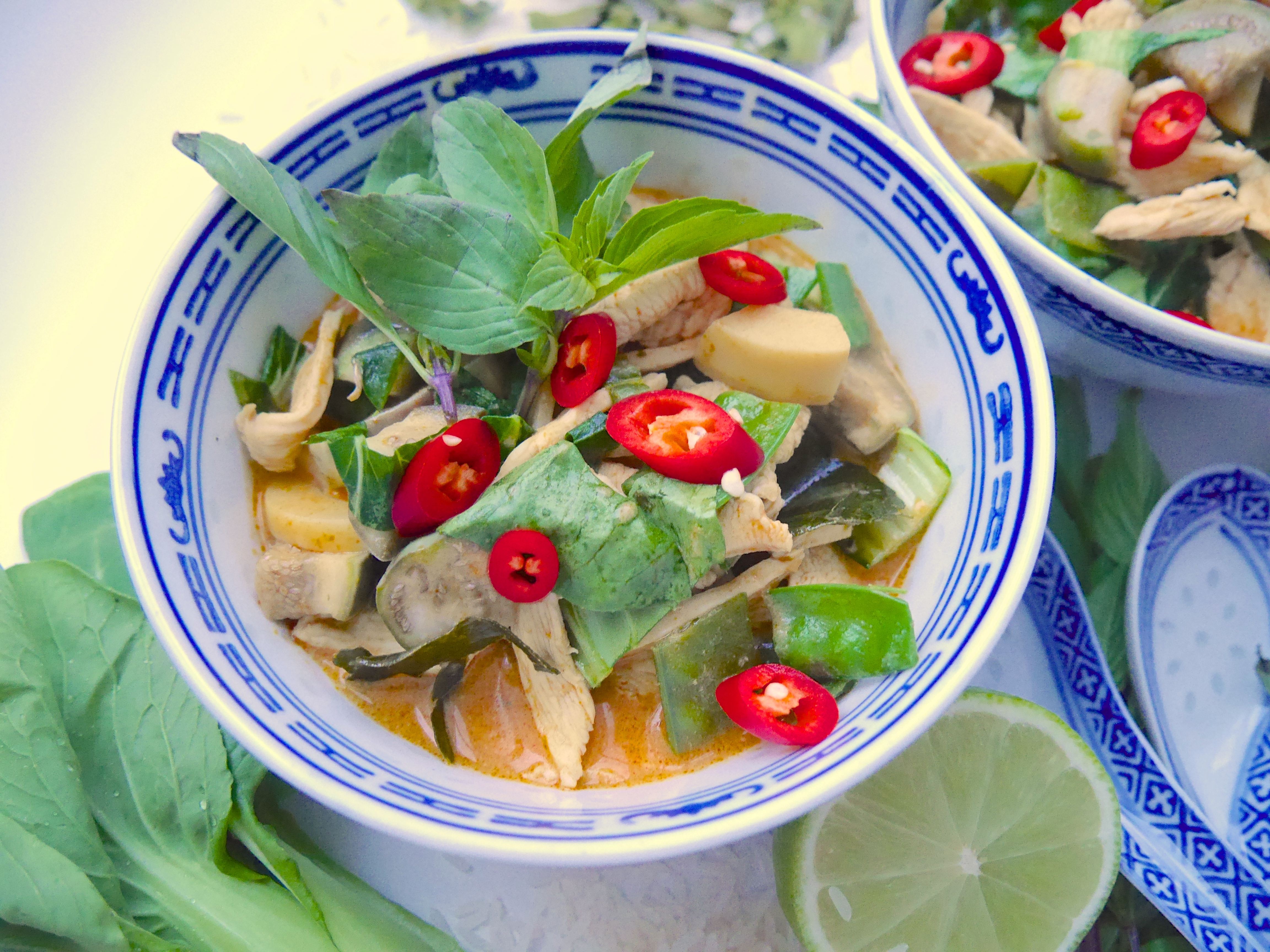 Rotes Thai Curry_1 | Rezept Dr. Alexa Iwan