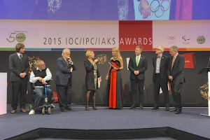 2015 IOC/IPC/IAKS Awards; Moderation Dr. Alexa Iwan