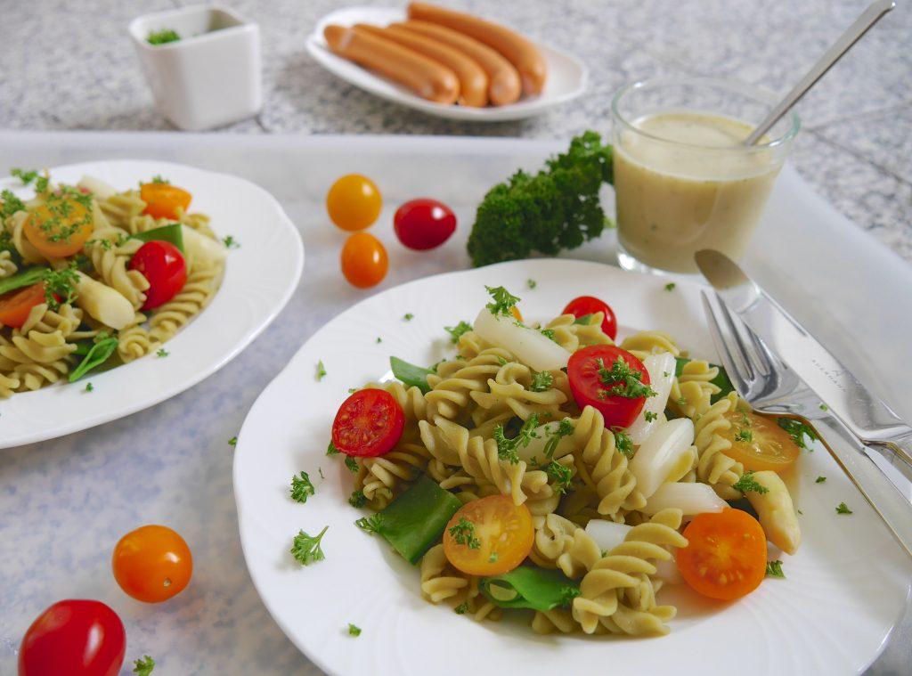 Salat mit Grüne Erbsen Pasta_3 | Rezept Dr. Alexa Iwan