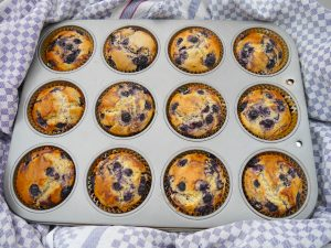 Limetten-Blaubeer-Muffins_1 | Rezept Dr. Alexa Iwan