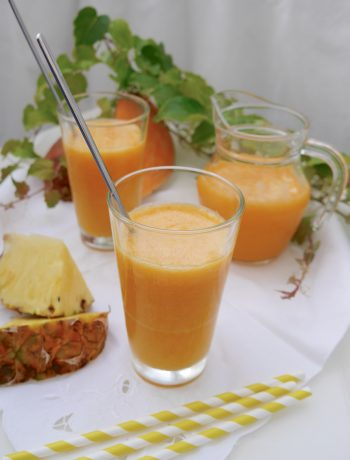 Süßkartoffel-Ananas-Smoothie | www.goodfood-blog.de