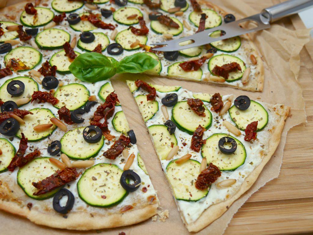 Vegetarischer, laktosefreier Flammkuchen_5 | Rezept Dr. Alexa Iwan