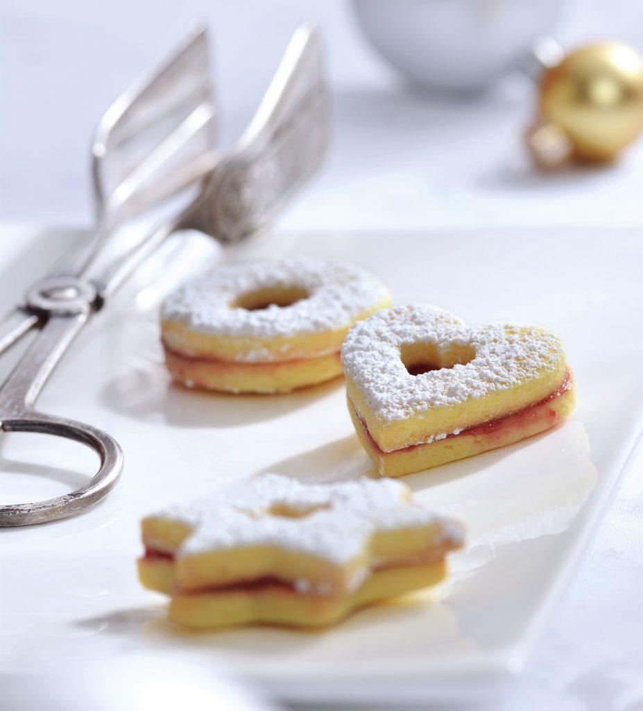 Gesunde Weihnachtsplätzchen – glutenfreie Spitzbuben