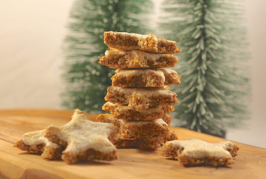 Gesunde Weihnachtsplätzchen – vagere Zimtsterne