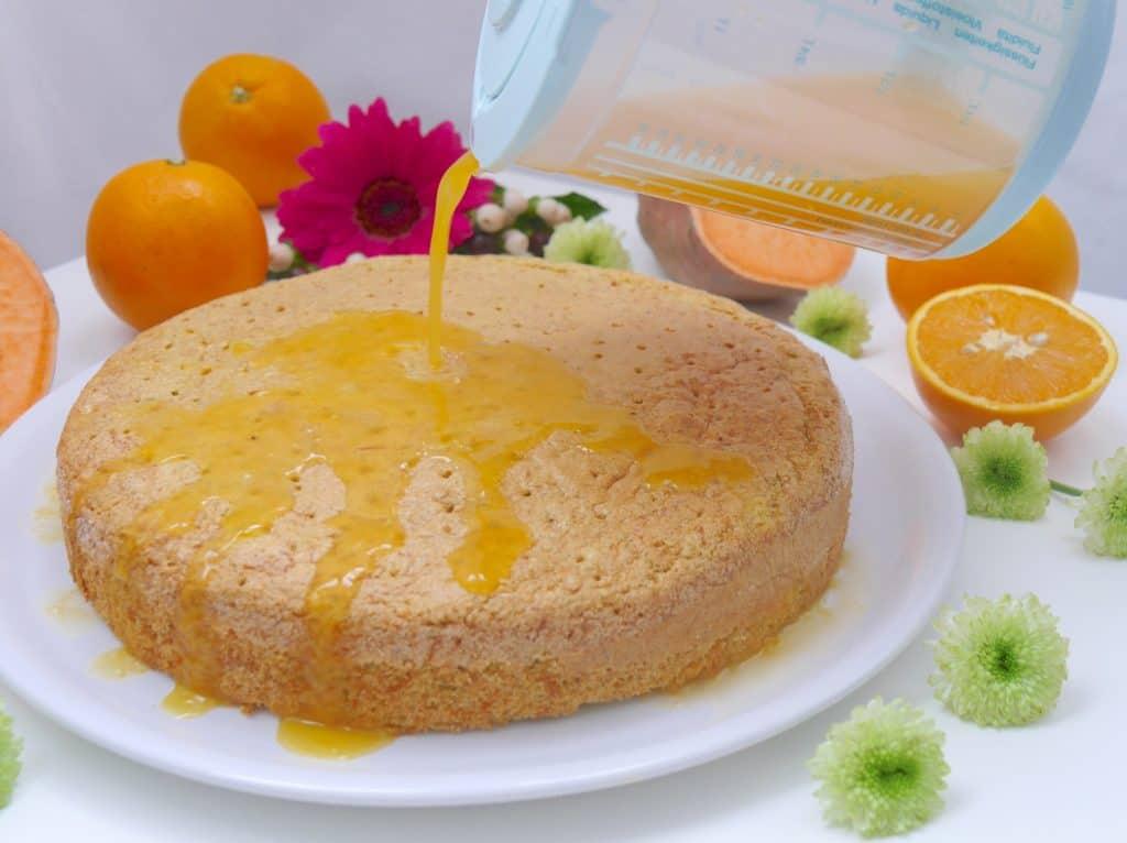 Messkannen-Set von keeeper zum Rezept Süßkartoffel-Kuchen von Dr. Alexa Iwan