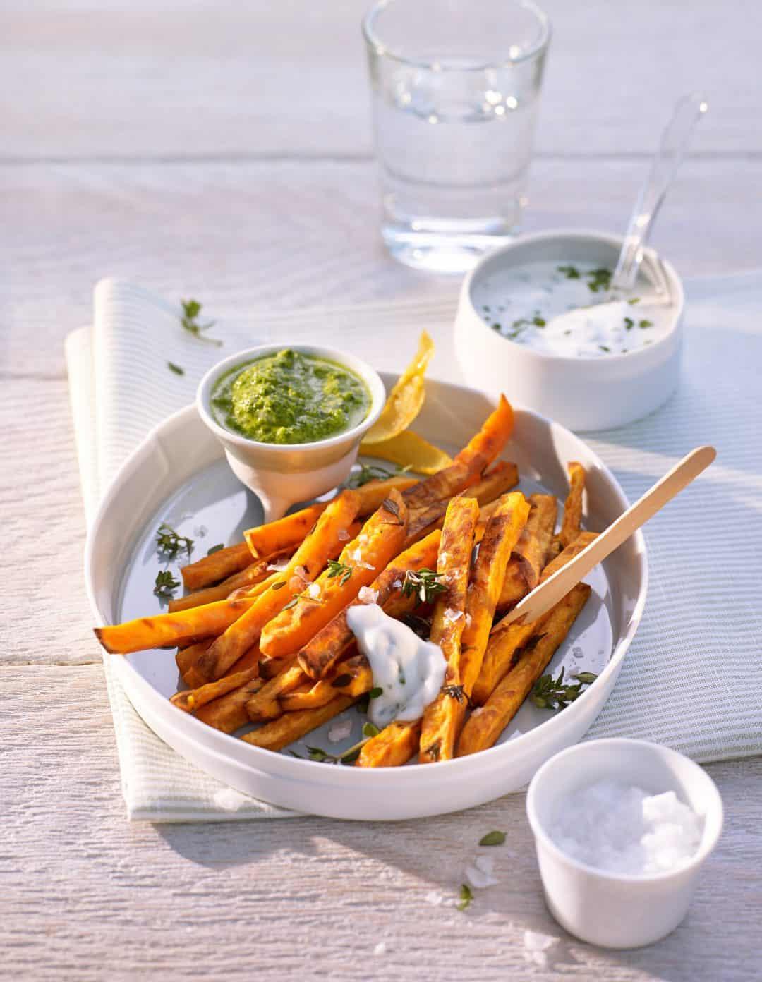 Gesunde Ernährung mit Süßkartoffeln