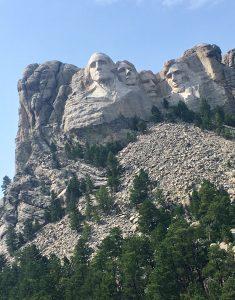 Mount Rushmore, Handmaß