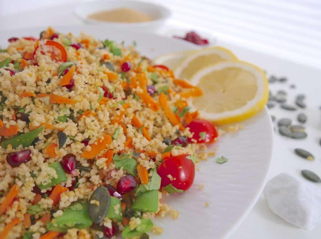 Couscous-Salat by Dr. Alexa Iwan