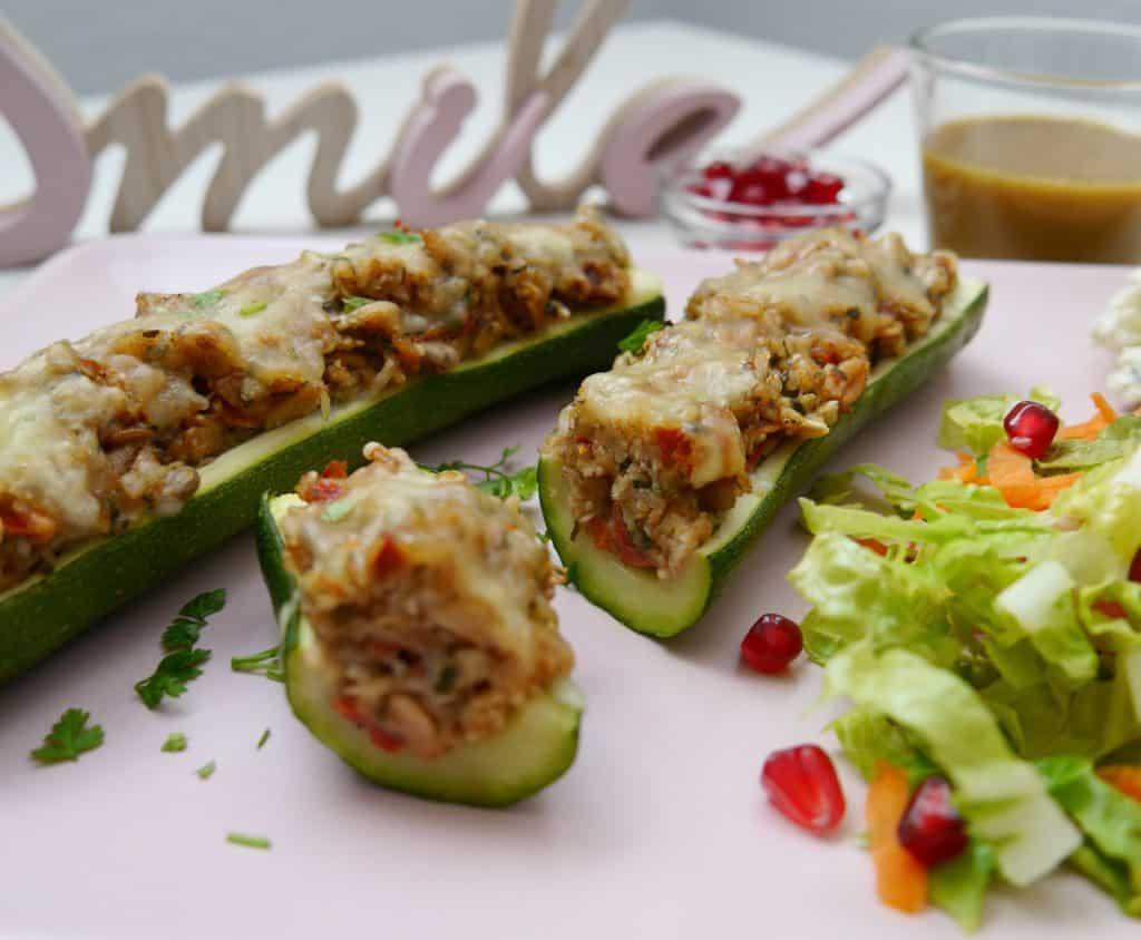 Gefüllte Zucchini by Dr. Alexa Iwan