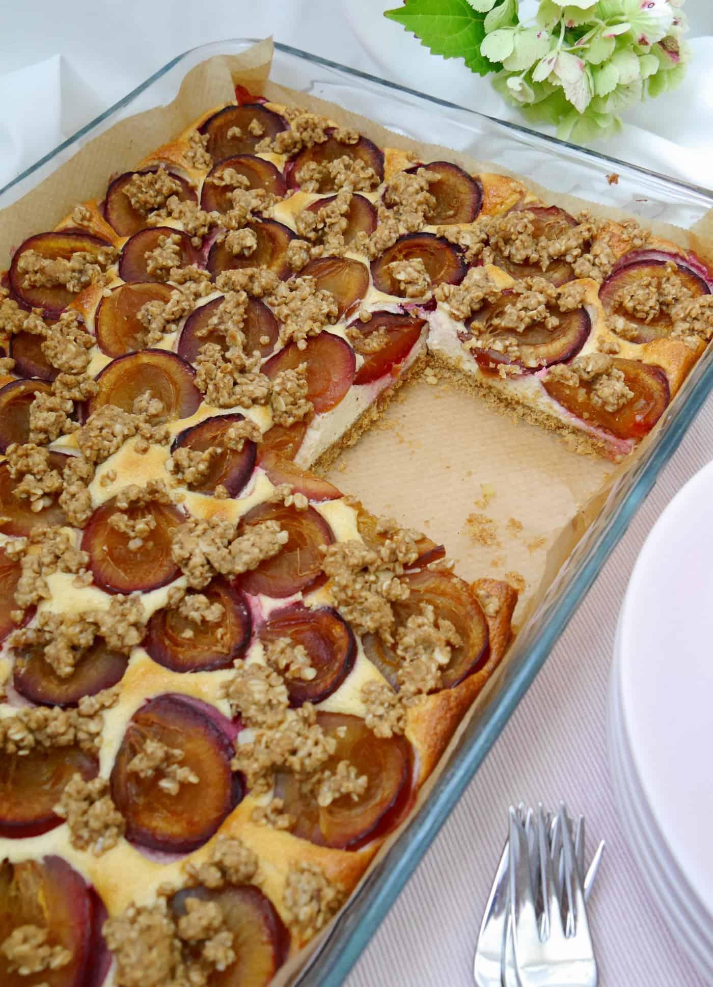 Pflaumenkuchen gesund by Dr. Alexa Iwan