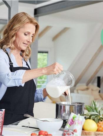 Backen mit weniger Zucker by Dr. Alexa Iwan für Kaufland