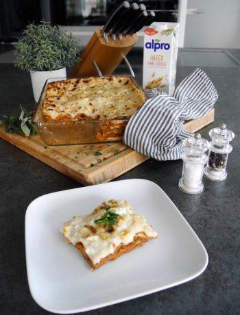 Lasagne mit Alpro Ohne Zucker