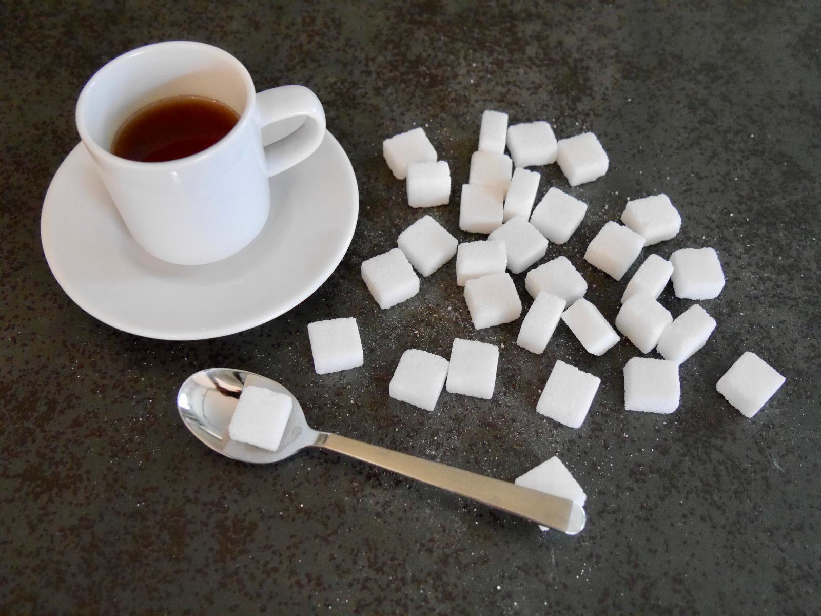 Zuckerkonsum pro Tag und Person